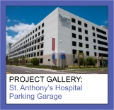 Commercial Painting Photo Gallery of St. Anthony's Hospital Parking Garage by Sourini Painting